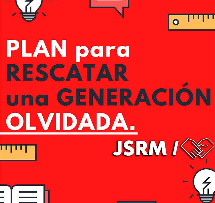 JSRM presenta un plan para rescatar a juventud de la Región