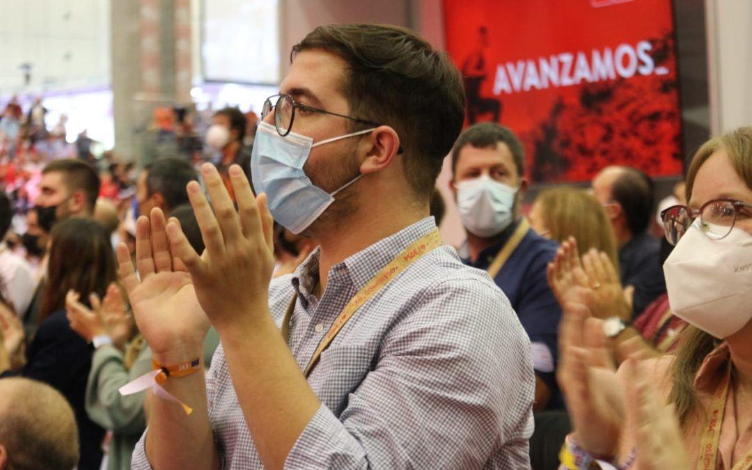 JSRM lidera en el Congreso del PSOE la defensa del Mar Menor y las personas LGTBI+